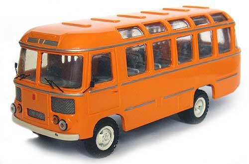 Модель автомобиля паз в масштабе 1 43