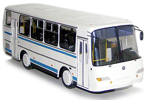 коллекционная модель автомобиля ПАЗ в